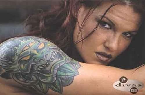 lita's demon tattoo
