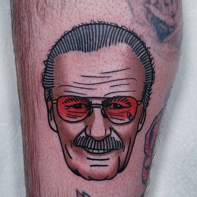 8 Heroic Stan Lee Tattoos