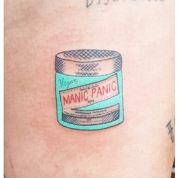 The Delightfully Tongue-In-Cheek Tattoos of Shannon Perry