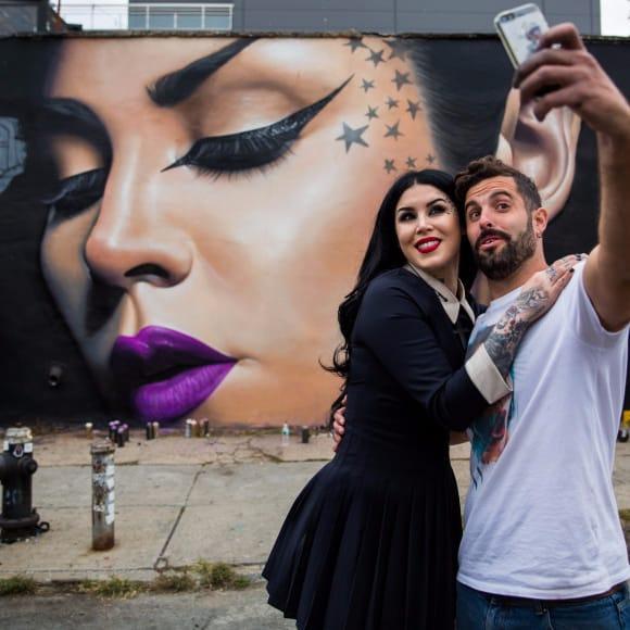 Street Artist Belin Paints Famous Tattooed People