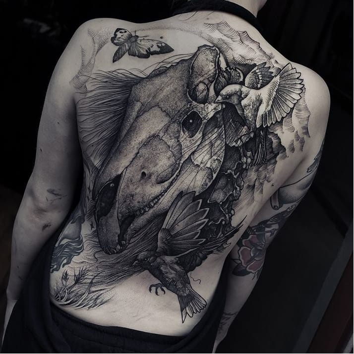 The Dark Tattoo Art of Grindesign