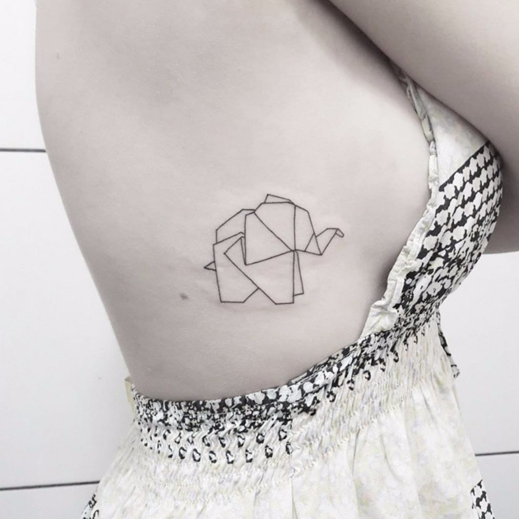 From Top to Bottom: 10 Bodyparts to Get an Elephant Tattoo on