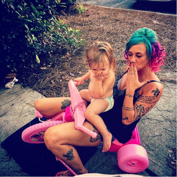 These Tattooed Moms Are Making Parenting Look Like Art