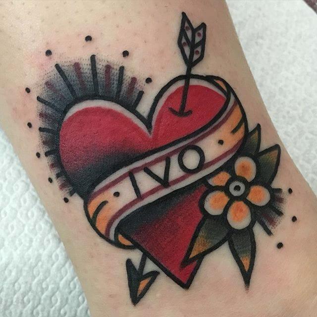 Rich, Striking Traditional American Style Tattoos by Jeroen Van Djik