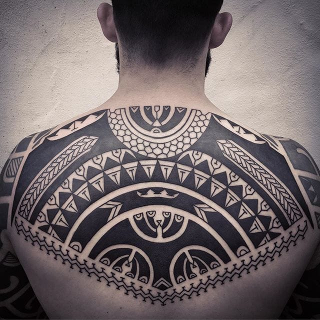 Bold and Brazen Tribal Tattoos by Neil Bass