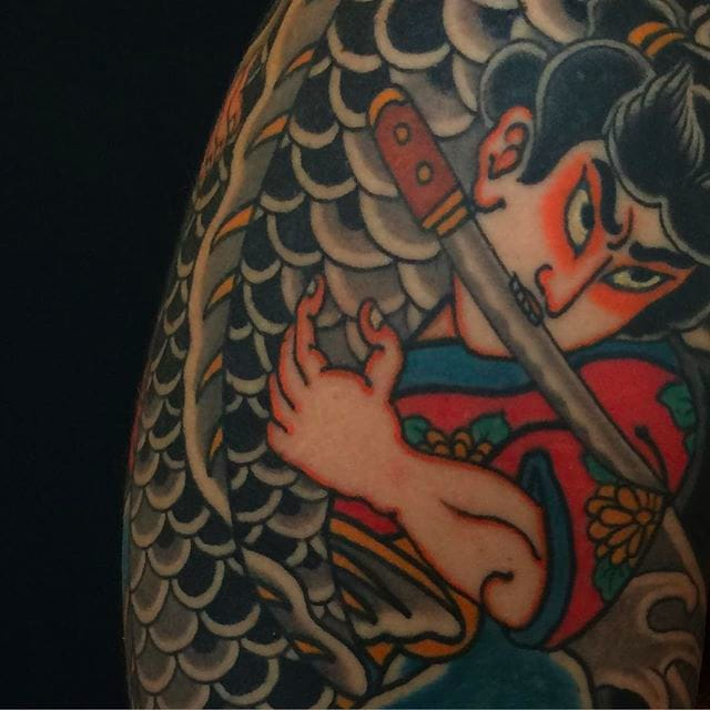 Strong and Massive Japanese Tattoos by Horisada