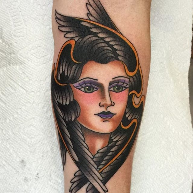 10 Solid Traditional Tattoos by Dean Denney