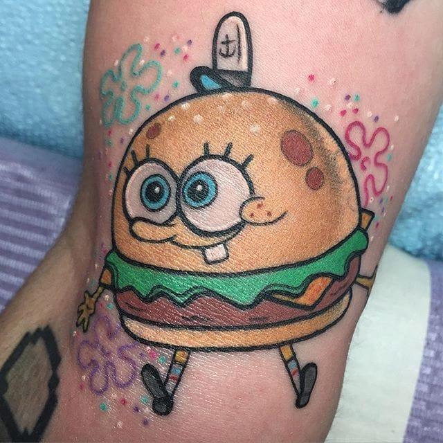 Nautical Nonsense: 15 Silly SpongeBob SquarePants Tattoos