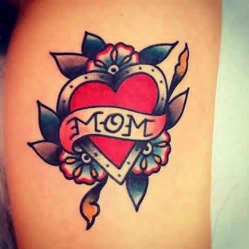 Mom Love tattoo