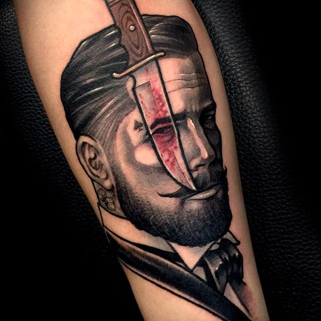 21 Razor-Sharp Knife Tattoos to Cut Down Haters with
