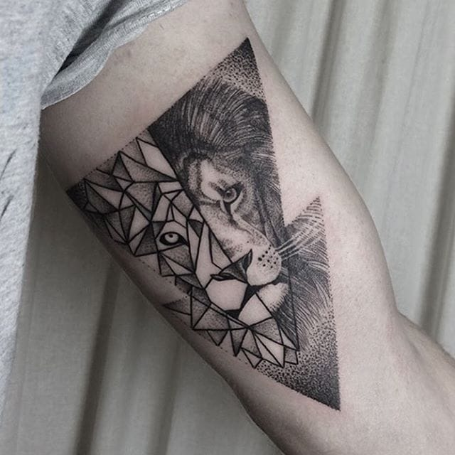 Blackwork Animal Tattoos by Klaudia Holda