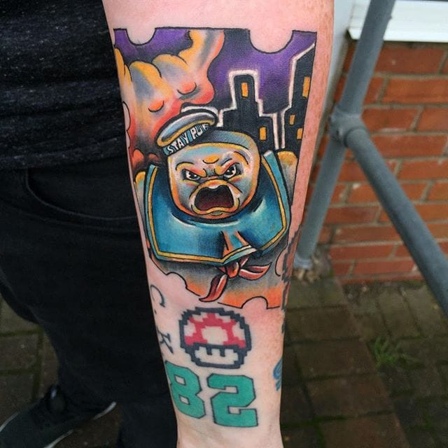New School Pop Culture Tattoos by Ryan Lucas