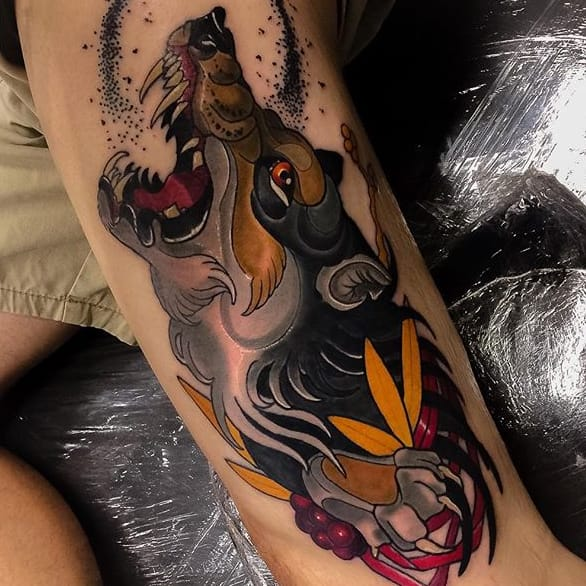 Marvelous Neo Traditional Tattoos by Jarret Livingston