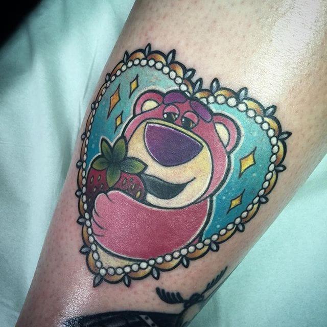 8 Lovely Lotso Bear Tattoos