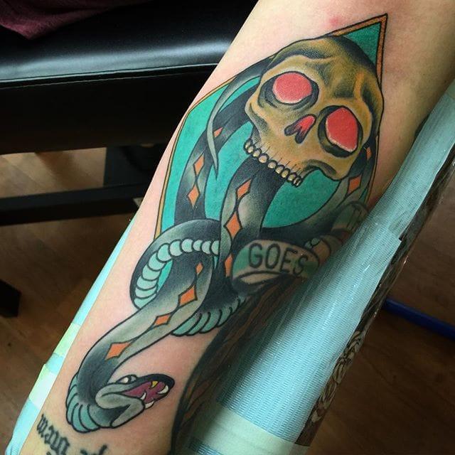 12 Deathly Dark Mark Tattoos