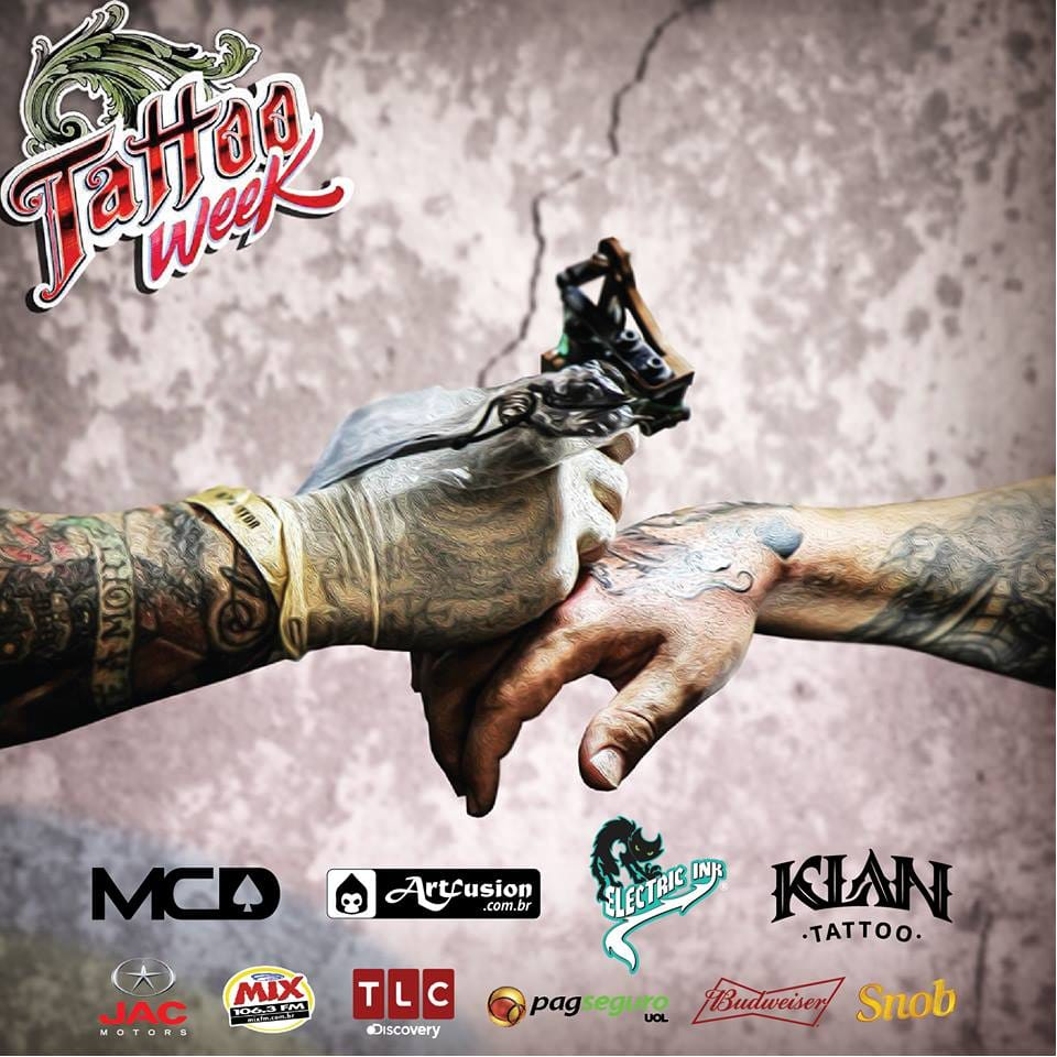 Vejam o Que Vai Rolar Na Tattoo Week SP 2016 Este Final De Semana!