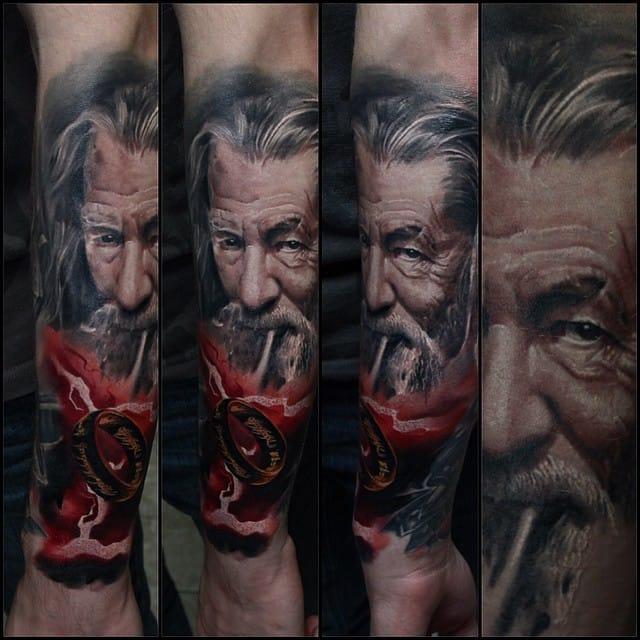 Nikolay Dzhangirov Em 12 Tatuagens Realistas Fantásticas (Parte 2)