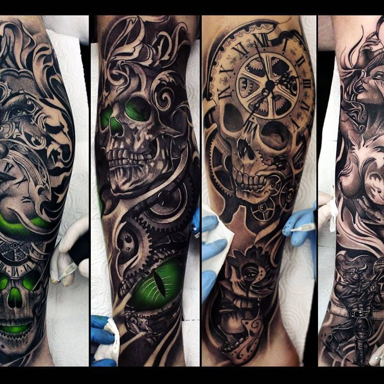 13 Tatuagens Fantásticas Do Ucraniano Vladimir Drozdov (Parte 2)