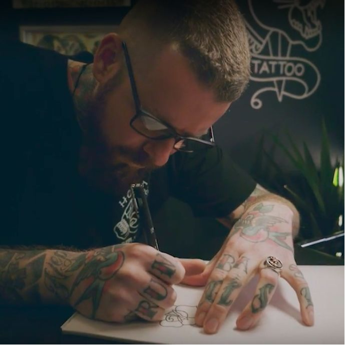 Video Documentary: Meet Tattooist Brad Murphy