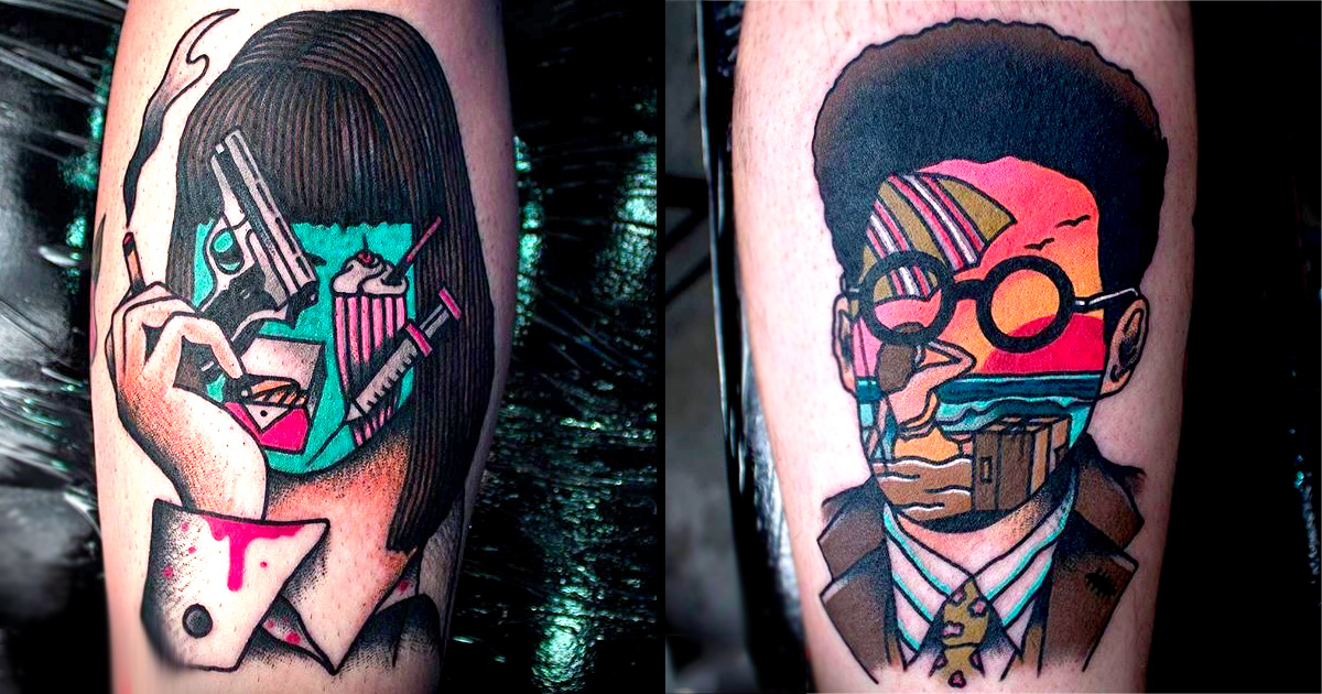 Eccentric Tattoos 16 Colorful and...