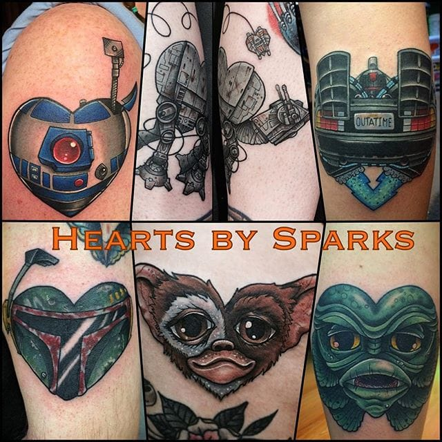 What's not to Love About Chris Sparks Movie Character Tattoos