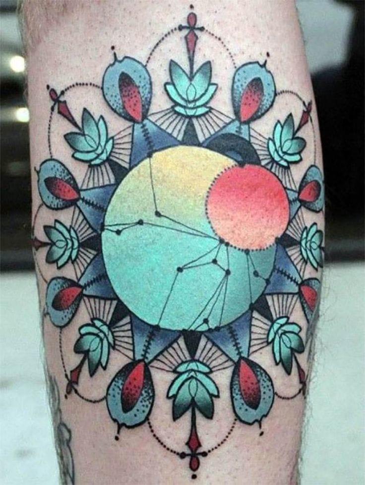 Colorful mandala by Cody Eich.
