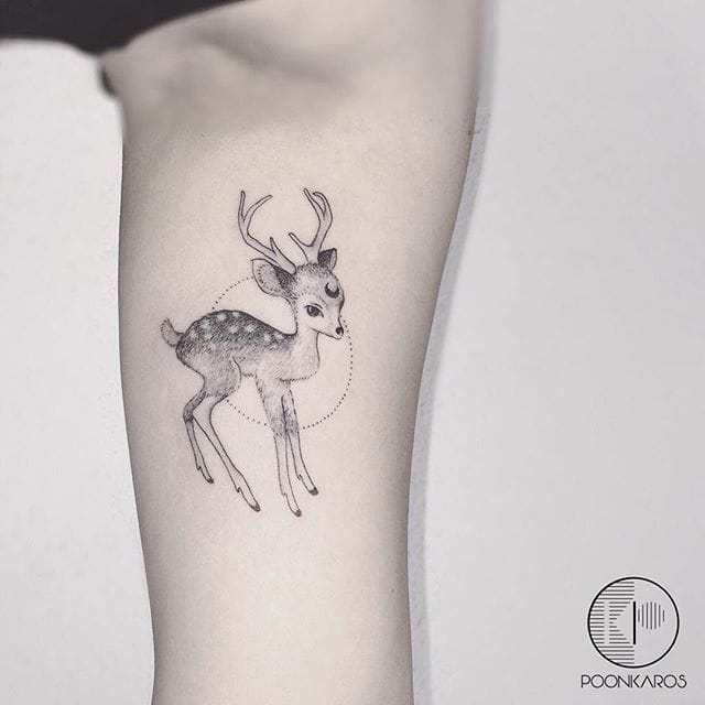 Subtle Fine Line Black and Grey Tattoos by Karry Ka-Ying Poon