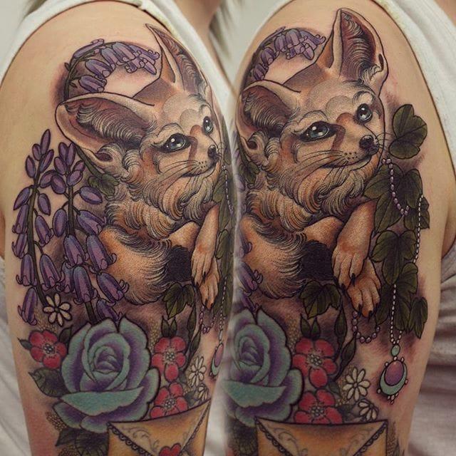 18 Times Georgina Liliane's Animal Tattoos Were So Damn Majestic