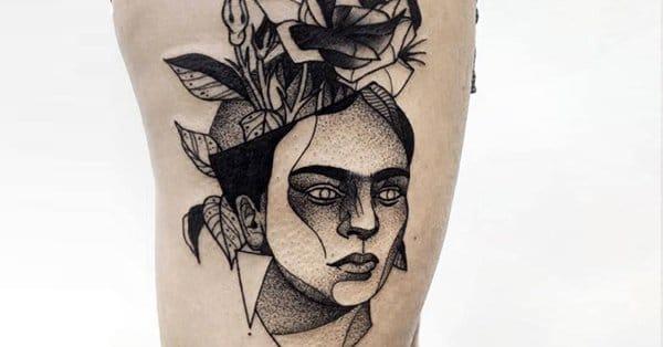 15 Artistic Frida Kahlo Tattoos