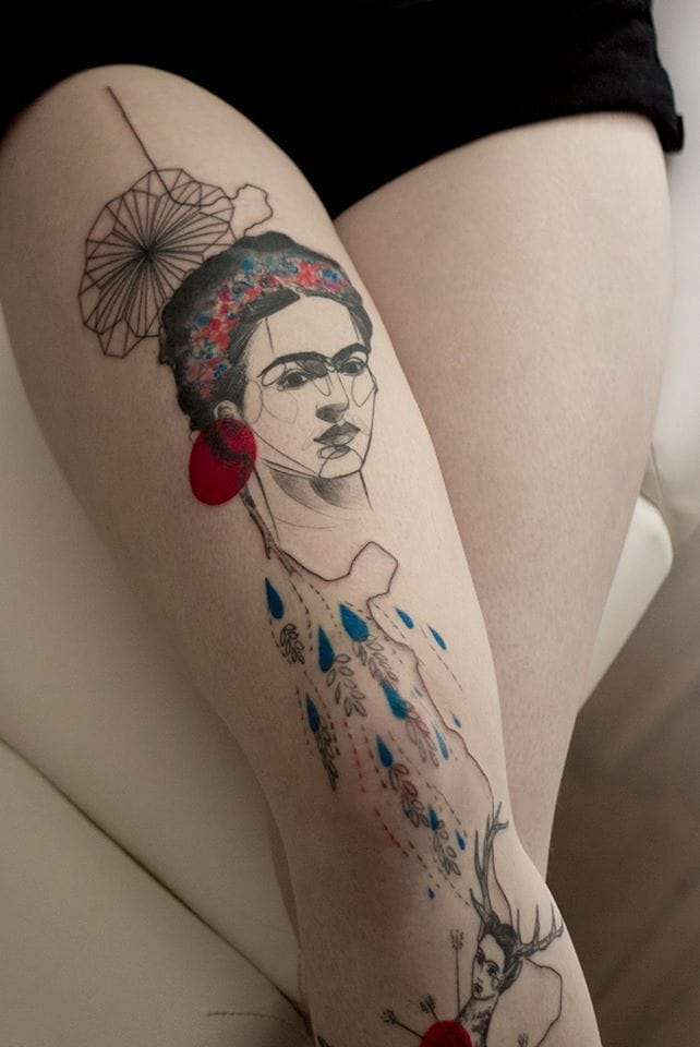 15 Artistic Frida Kahlo Tattoos | Tattoodo