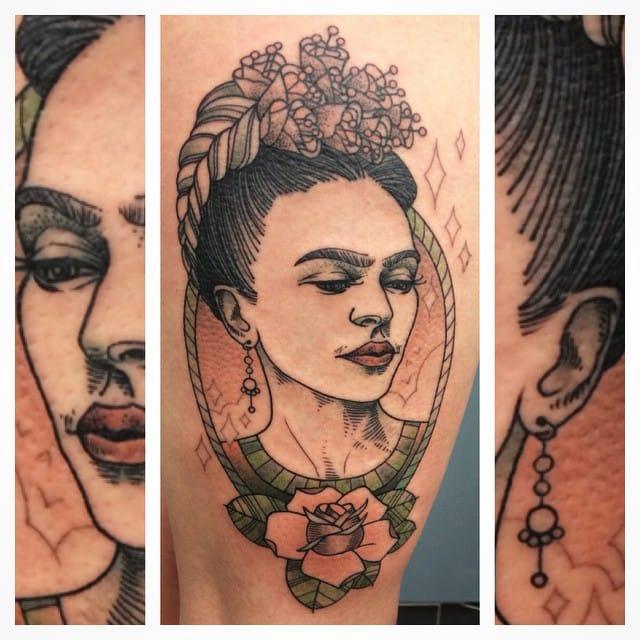 Breath-taking tattoo by Rocky Zéro...