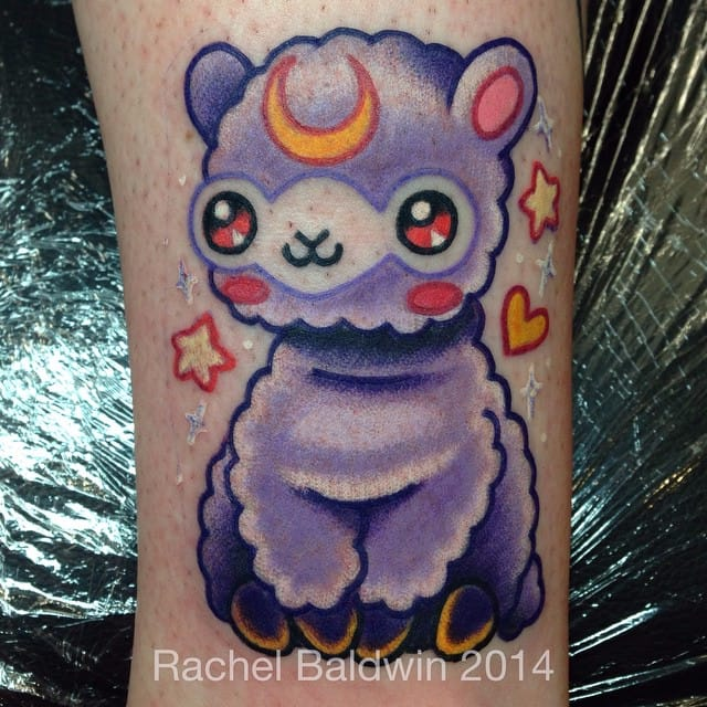13 Cutest, Fluffiest, and Cuddliest Alpaca Tattoos