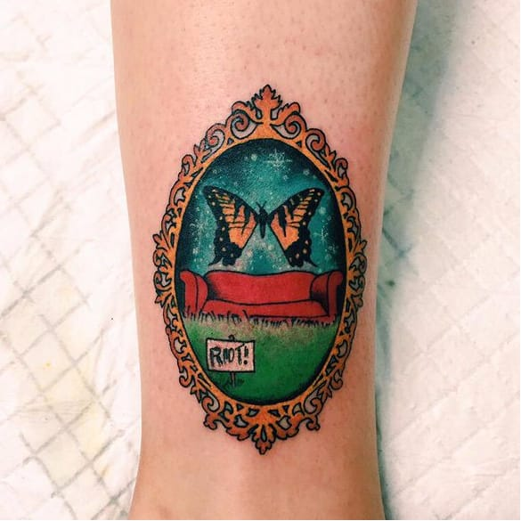Start a Riot with these Emotive Paramore Tattoos!