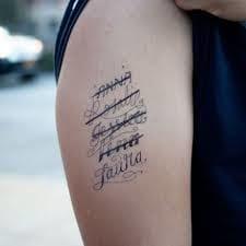 Love tattoo fail