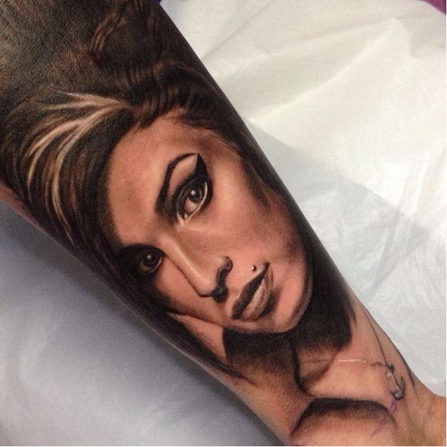 10 Tatuagens Homenageando Amy Winehouse