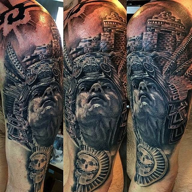 Impressive Aztec Tattoos Part 1 | Tattoodo