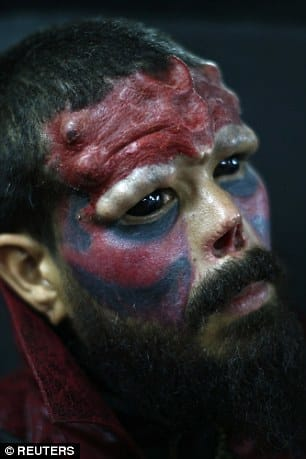 super villain Red Skull