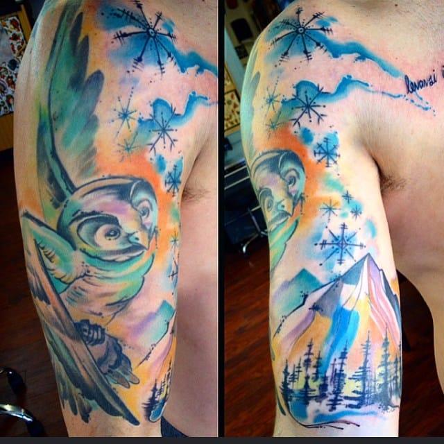The Adaptable Tattoos of Ryan Willard