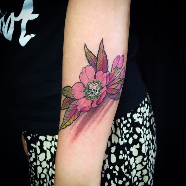 Rad Neo Traditional Japanese Tattoos by Danny Chen
