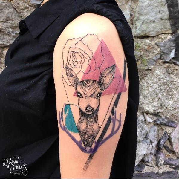 The Unique Geometric Tattoos of Resul Odabaş