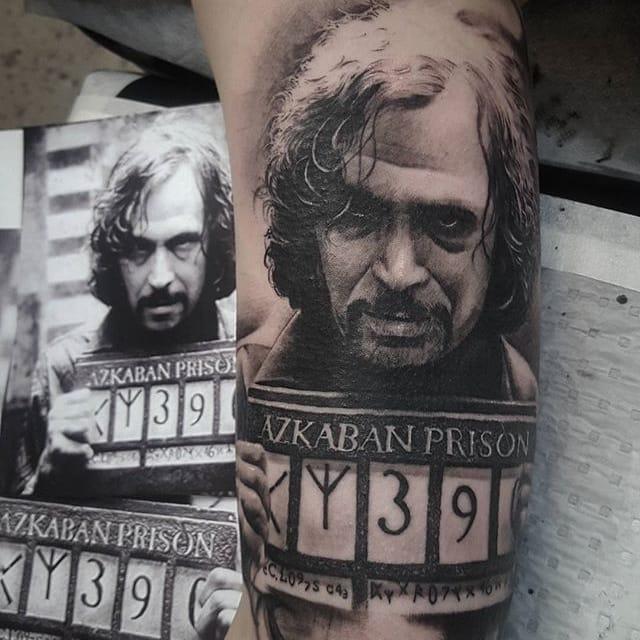 10 Inspiring Sirius Black Tattoos