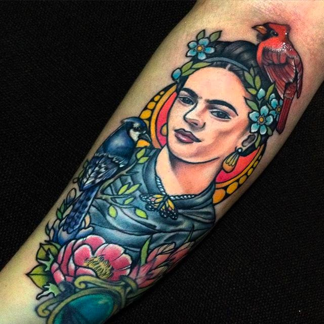 Dynamic and Vibrant Neo Traditional Tattoos by Toxic aka Jan Fresco