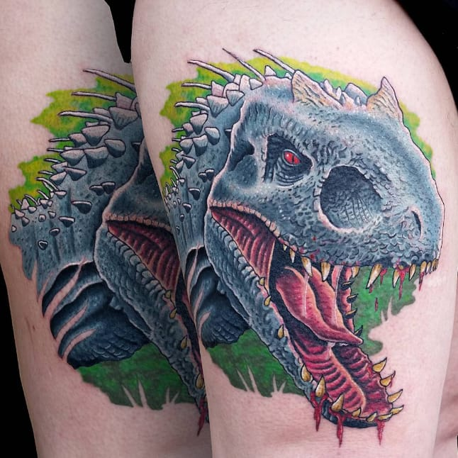 RAWR! 10 Jurassic World Tattoos and Designs