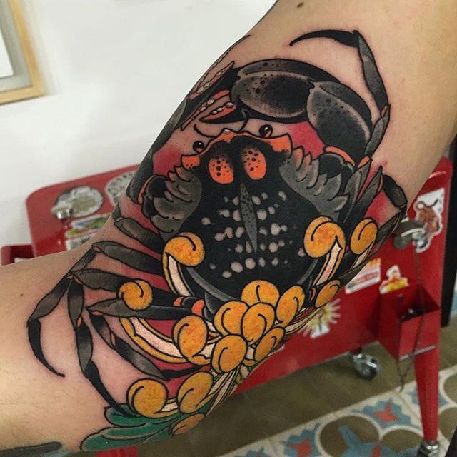Vivid Neo Traditional Tattoos by Alejandro Lopez