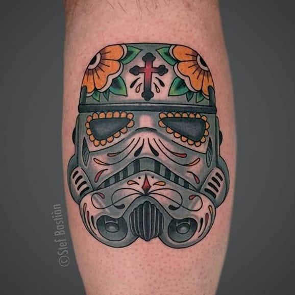 10 Epic Stormtrooper Sugar Skull Tattoos