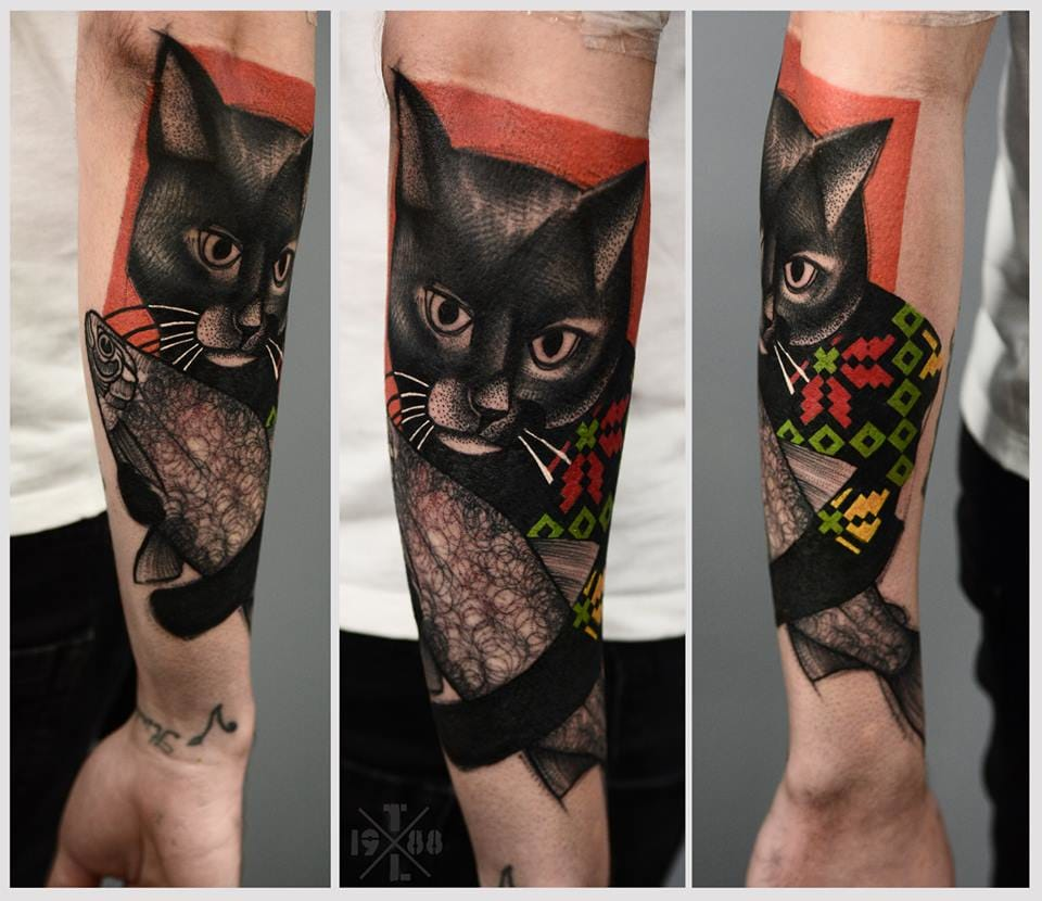 Fun cat piece!