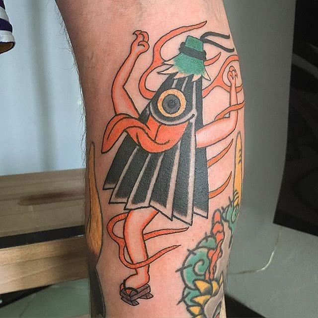 8 Bizarre Kasa-Obake Tattoos