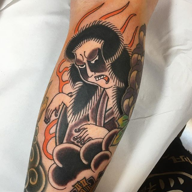 Bright and Brilliant Japanese Tattoos by Monta Morino