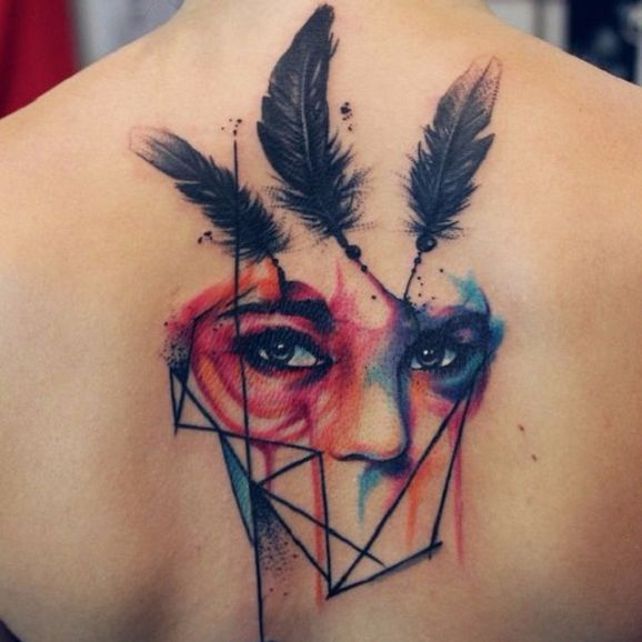 The Exquisite Mash-Up Tattoos of Gáboa