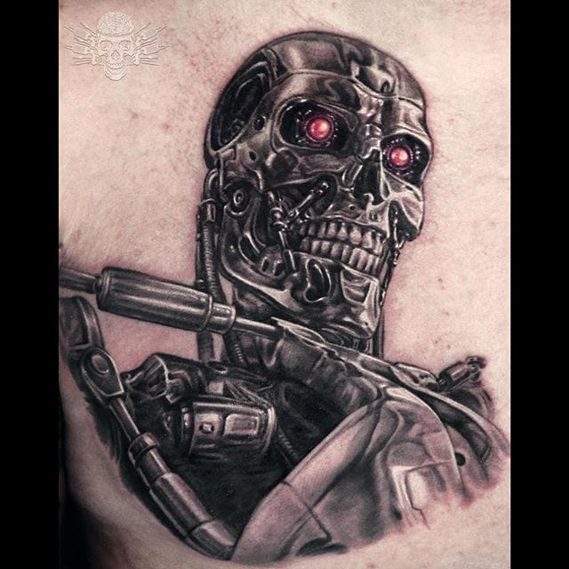Sweet & Scary Realism Tattoos by Javier Antunez
